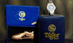 1. Tiger Bronze Soccer Shoe Lighter - Refer to image -