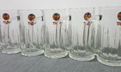 TIGER Beer mug 380 ml (Set of 5 pieces) Launched in