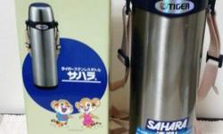 Brand new Tiger Sahara 1 litre Water Flask with box (