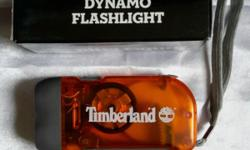 Brand new Timberland Dynamo torchlight with handy