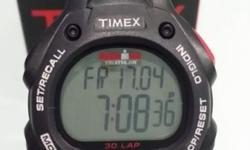 Brand new and unused Timex Ironman Sportswatch WR100m,