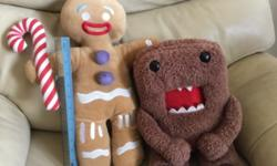 Tip-TOP condition like new Gingerbreadman etc soft toys
