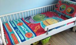 Ikea toddler bed for sale with mattress As in picture