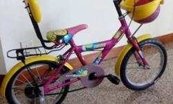 Toddler bi-cycle for ages 3 to 6 years