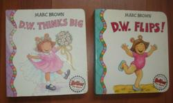 D.W. Thinks Big (D. W. Series) Hardcover by Marc Brown