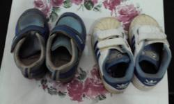 1) Picture 1 - a) addidas shoes (size = 1.5 to 2.5 year