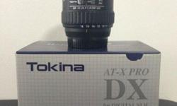 Selling my Tokina 11-16mm f2.8 wide angle lens, meant