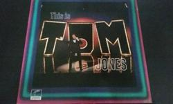 FOR LOVERS OF 1960 OLDIES, THIS IS TOM JONES LP HAS