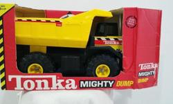 Used Tonka Steel Dump Truck in excellent condition. 16""