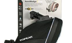 Topeak Aero Wedge iGlow Saddle Bag S$38 (For direct