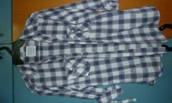Selling this used checkered Topman shirt for only $4.