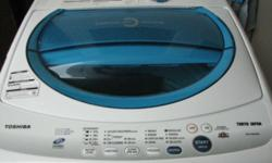 Used Toshiba washing for sale Fully auto wash 7kg dry