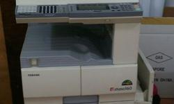 Used Photocopier with New Drum, in good condition.