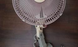 Toyomi 7� Clip on Fan - 2 Speed Selection - Oscillation