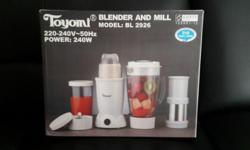Brand new. Never used. $50. Product Features - Blender