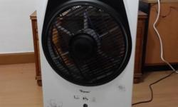 EXCELLENT SPARINGLY USED STANDING FAN WITH MIST,IONIC
