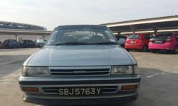 Toyota Corona CD 1.6M (COE till 04/2019) for sale at