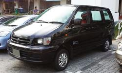 Great van for transport and deliveries black color