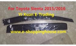 High Quality Injection Mould Window Visor For Toyota