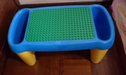 Hi, On sale - A Lego Duplo Building Block Lap Table