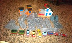Hi,   Selling Preloved Thomas Track and train set -