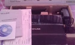 TP-Link N600 Router. Excellent condition, still has the