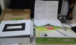 Hi I am selling off my TP Link 150 MBPS Wireless N USB