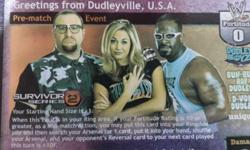 Survivor Series 2. By Dudley Boyz Greetings from