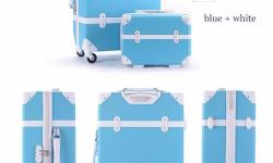 Very lovely vintage style luggage for photography and