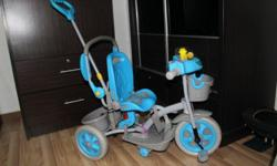 Tricycle for sale(blue colour): it is in very good