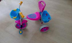 Kids tricycle for sale , not much used and in good