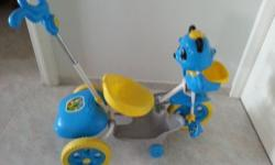Tricycle for Toddler. There is music working as well as