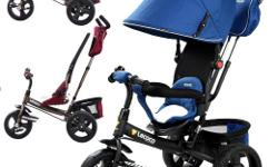 Kids Tricycle Reversible seat - Parents can sit their