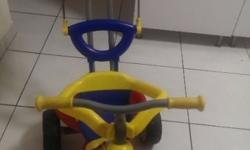 Tricycle With Canopy And Push Handle for Sale. Selling