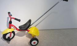 Kettler Tricycle, very good condition, has a push