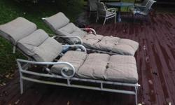 We have two Tropitone Pool Loungers which new were over
