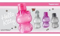Tupperware Hello Kitty Eco Bottles (Set of 4) 425ml