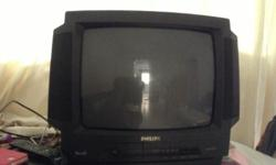 "Philips old model 24 ""tv. Good condition."