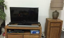 Regretful safe . Selling due to relocation. Teak TV