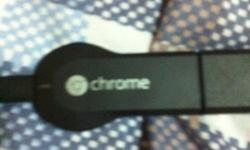 Sellin a chromecast for TV casting its new comes with