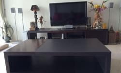 - TV Console & Coffee table from Lorenzo - In good