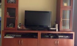 Beautiful TV console: - Can detach as four independent