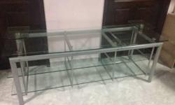 Hi Im selling Glass TV Console Location : Blk.491B
