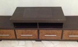 TV console in very good condition for immediate sale. A