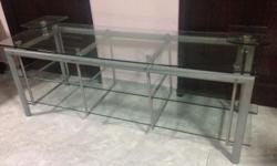 WTS : Hi Im selling Glass TV Console very good