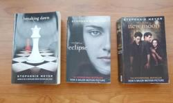 Three paperback books in good condition, especially
