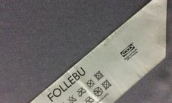 IKEA Follebeu foam single mattress. One used for about