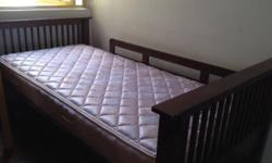 Two single bed +mattress for sale $60 each, two single