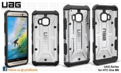 UAG for HTC One M9 Colour Maverick (avail), Ash