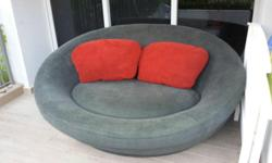 UFO Designer Sofa/Lounge Chair by Cellini Comes with 2